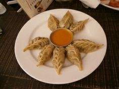 momo's - Nepal's version of Gyoza or dumplings