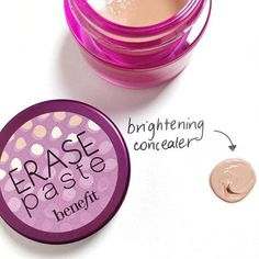 Who else is reaching for their erase paste concealer this morning!?