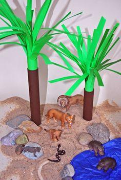 Palmen aus Papier: Schattiges Plätzchen