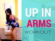 Upper Body Bare-All Workout | Win a HYDAWAY Bottle! - YouTube