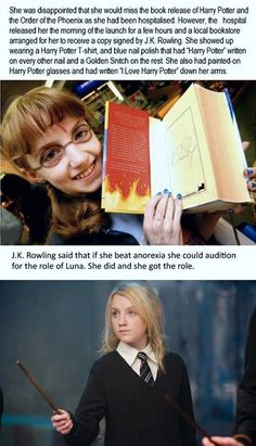 When I first saw this picture I found it really inspiring. It teaches people to fight through it if they have a life-threatening disease+I love Harry Potter so I had to post this