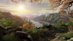 Video Game Art - The Vanishing of Ethan Carter