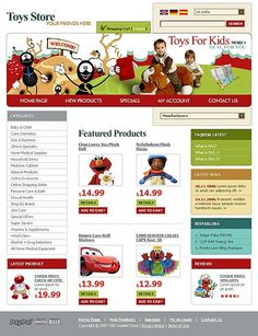 Online Shop CRE Loaded Templates by Lovely Kids Store, Toy Store, Entertainment Online, Online Shopping Stores, Website Template, Doll Toys, Entertaining, Templates, Stencils