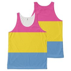 Pansexual Pride All-Over Print Tank Top from #Ricaso