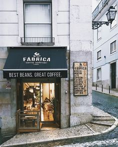 Fabrica, Lisbon #cafe #coffeeshop Photo: Rob Bentley 01/17