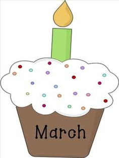 Months of the year displayed on cupcakes. Make a birthday graph with kids names. Birthday Graph, Birthday Clipart, Birthday Month, March Pisces, Hello March, Pisces Girl, Cupcakes, Classroom Organization, Classroom Ideas