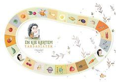"""Én kis kertem"" társasjáték | Favolart Handmade Toys, Kids Learning, Frugal, Diy Gifts, Crafts For Kids, Plates, Tableware, Vegetables, Amigurumi"