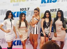 L to R: camila, ally, dinah, lauren, normani