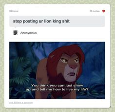 There's Always a Lion King Comeback