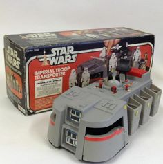 Vintage Palitoy 1979 Star Wars Toy Imperial Troop Transporter Working BOXED