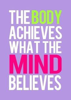 BELIEVE   inspirepositivity.com