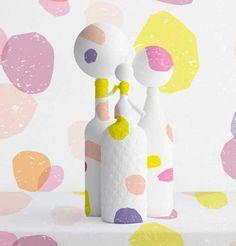 Diseños de estampados en tonos pastel de Judy Kaufmann