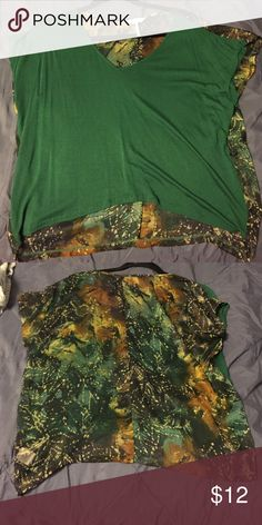 Sheer back top From pac sun. Good condition PacSun Tops Tees - Short Sleeve