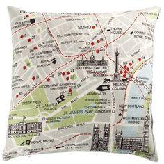 Almofada mapa