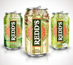 #Redd's #Cans #design #redds # #packagingdesign #packaging #projektowanie #opakowan #projektowanieopakowan