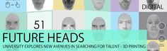 """Read more: https://www.luerzersarchive.com/en/features/digital/future-heads-go-3d-542.html FUTURE HEADS GO 3D NITH is Norway's leading university in the field of IT and has trained some of the nation's best technological heads. Now it is exploring new avenues in searching for the heads of the future -they do their own 3D prints of them.   The recruitment campaign, """"Future Heads"""" uses 3D printing at education fairs to reach out to the talents of the future. The site was created by Good…"""