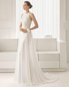 Siena vestido de novia Rosa Clara