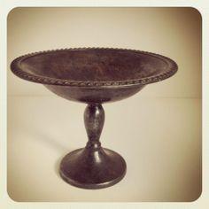 refind joy | dark silver pedestal