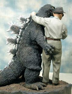 Godzilla and his FX master