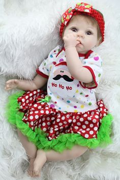 82.39$  Buy now - http://aliuyp.worldwells.pw/go.php?t=32394558607 - Fashion NPK Doll 22 Inch Soft Silicone Princess Girl Lifelike Baby Doll Reborn Handmade Kid Hobbies Toys Best Playmate For Kids 82.39$
