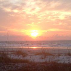 Sunrise @ Cape Canaveral, FL -- April, 2012