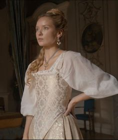 One of Annes Beautiful gowns - The Musketeers