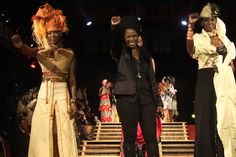 Mame Fagueye Ba (Senegal) at 3rd World Festival Mondial of Black Arts and Cultures. #blackworldfestival