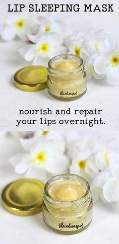 LIP SLEEPING MASK- NOURISH AND REPAIR LIPS OVERNIGHT