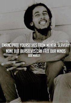 Bob Marley is a very smart man.