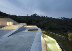 Architectural Zig Zag Holiday House in Portugal11