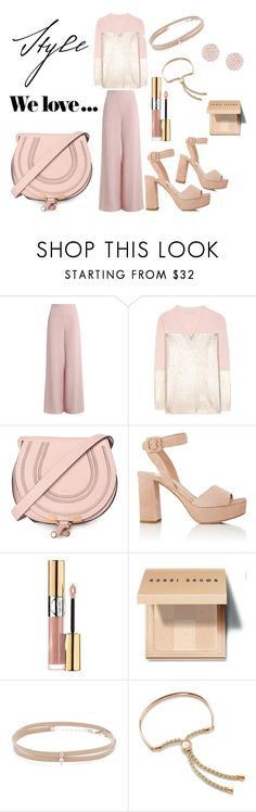 """Perfect Nude"" by marielle80 ❤ liked on Polyvore featuring beauty, Zimmermann, STELLA McCARTNEY, Zara, Chloé, Miu Miu, Yves Saint Laurent, Bobbi Brown Cosmetics, Jennifer Zeuner and Monica Vinader"