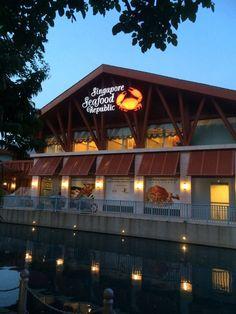 Photo of Singapore Seafood Republic - Singapore, Singapore. The back of building