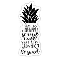 """Pineapple"" Stickers by jennaannx11 