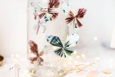 Dream Wedding, Gift Wrapping, Diy Crafts, Crafty, Table Decorations, Creative, Diys, Note, Golden Anniversary