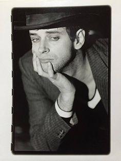"""#GustavoCerati por  #GabyHerbstein.. Año 1994. La primer foto que le tomé a Gustavo en mi primer año como """"fotógrafa profesional""""."""