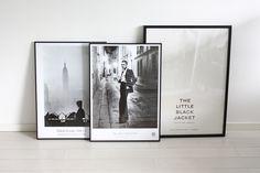 homevialaura | posters | Karl Lagerfeld - The little black jacket | Fotografiska | Helmut Newton | Elliott Erwitt