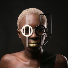 3D printed eyewear by Nasim Sehat