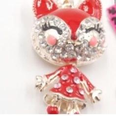 Selling this NWOT GC crystal pendant necklace red dress Cat in my Poshmark closet! My username is: carirangel. #shopmycloset #poshmark #fashion #shopping #style #forsale #Gina's Closet #Jewelry