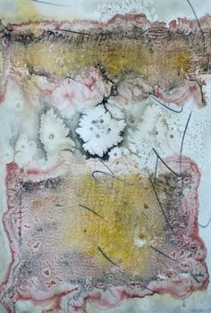 "Lynda Hoffman-Snodgrass - ""High Desert Dreams"" watercolor 21 x 14"""