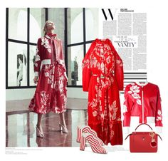 """""""New fendi outfit......red I like"""" by rousou ❤ liked on Polyvore featuring Fendi"""