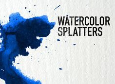 Download this set of 32 high resolution splatter brushes! - Free download.