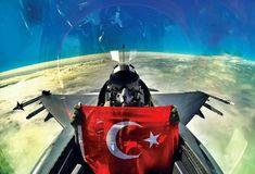 Turkey F-16 Pilot and ~Turkish Flag~