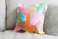 Stunning range of quality fabric 'canvases' (library bags, cushions etc) matched with non toxic fabric paints & markers for kids to create unique works of art. Tulip Fabric Paint, Rainy Day Activities, Cushion Fabric, Decorative Cushions, Kids Playing, Cute Kids, Gifts For Kids, Gift Tags, Kids Room