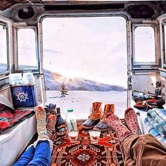 Campers, Vans, Buses and Wagons... | From Moon to Moon | Bloglovin'