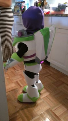Post with 9 votes and 85471 views. Shared by shadeofmyheart. Buzz Lightyear Costume for my old Toy Story Halloween, Old Halloween Costumes, Spirit Halloween, Diy Costumes, Awesome Costumes, Halloween 2017, Couple Halloween, Halloween Stuff, Spooky Halloween
