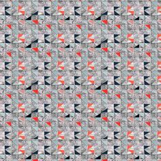 Cut Marbles (Red) - Abstract Geometric Fabric - The Textile District design to custom print for home decor, upholstery, and apparel. Pick the ground fabric you need and custom print the designs you want to create the perfect fabric for your next project. https://thetextiledistrict.com #designwithcolor #fabrics #interiordesign #sewing