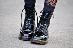 Wedge boots with socks mules shoes patterns,jelly shoes and socks oxford shoes summer,stylish shoes quality wellington boots. Dr. Martens, Botas Doc Martens, Doctor Martens, Baskets, Galaxy Converse, Charles Xavier, Wade Wilson, Grunge Fashion, Grunge Outfits