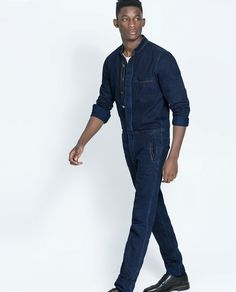 Bib Overalls, Dungarees, Denim Button Up, Button Up Shirts, Guys, Clothes, Outfits, Style, Fashion