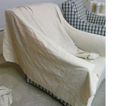 Home-Dzine - How to recover an armchair - without a sewing machine!