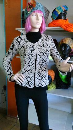 Chaqueta crochet Martha SiGal